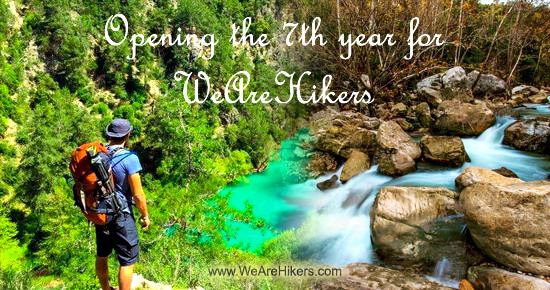 WeAreHikers' opening 7th year